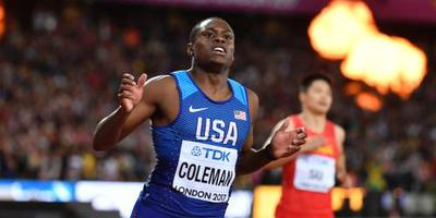 Wereldrecord Coleman op 60 meter indoor