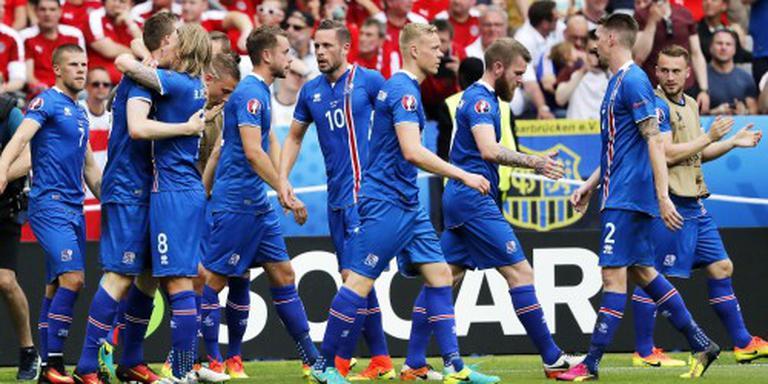 Voetbalsprookje van IJsland gaat verder