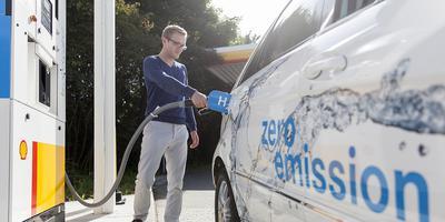 Er zijn nu ook auto's die op waterstof rijden. Foto: Archief DvhN
