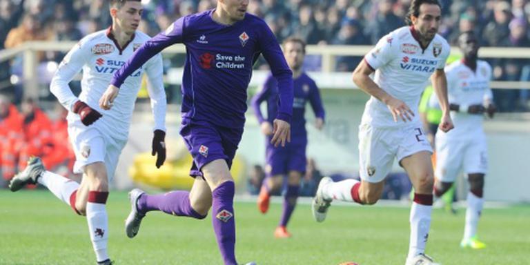 Fiorentina herstelt zich tegen Torino