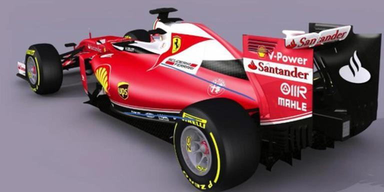 Ferrari toont iets minder rode bolide