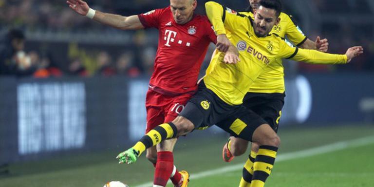 Bayern waarschijnlijk zonder Robben