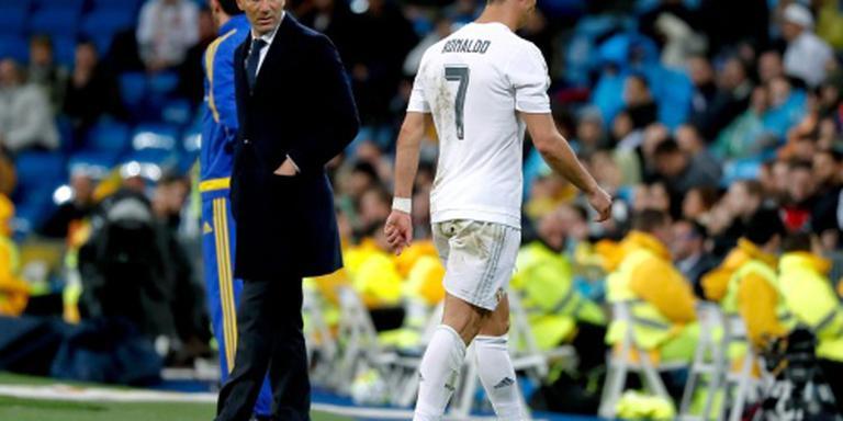 Spierverrekking Ronaldo in dijbeen