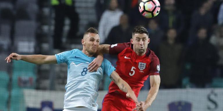 Engeland blijft op 0-0 steken in Slovenië