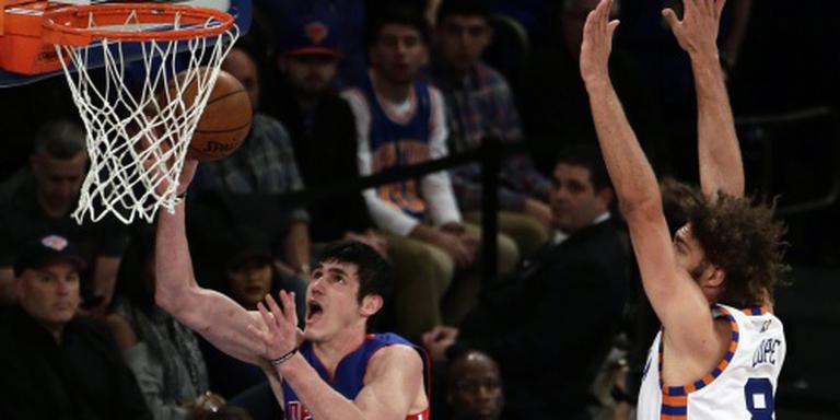 Pistons naar play-offs NBA