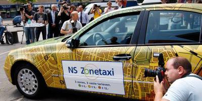 NS Zonetaxi op fors meer stations