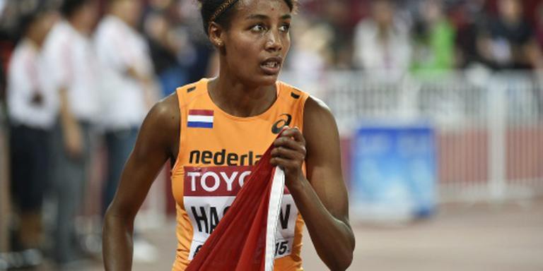 Hassan nipt boven Nederlands record