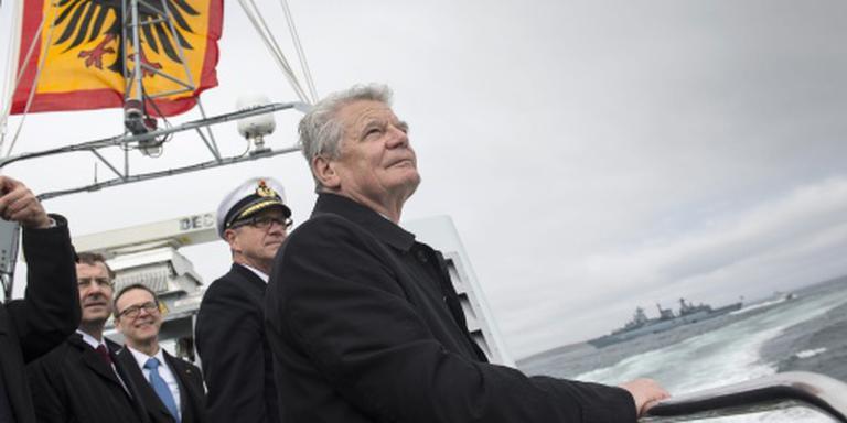'President Gauck ziet af van 2e termijn'