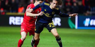 Arsenal redt het net in Europa League