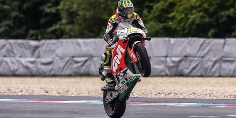 Crutchlow verrast met zege in MotoGP