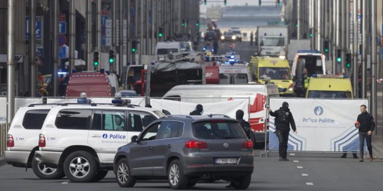 'Verdacht pakketje bij Wetstraat opgeblazen'