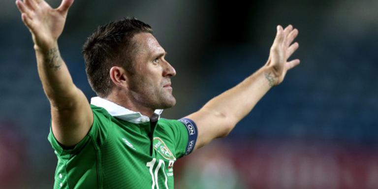 EK in gevaar voor Ierse veteraan Keane