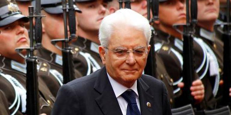 President Italië bemiddelt voor migranten