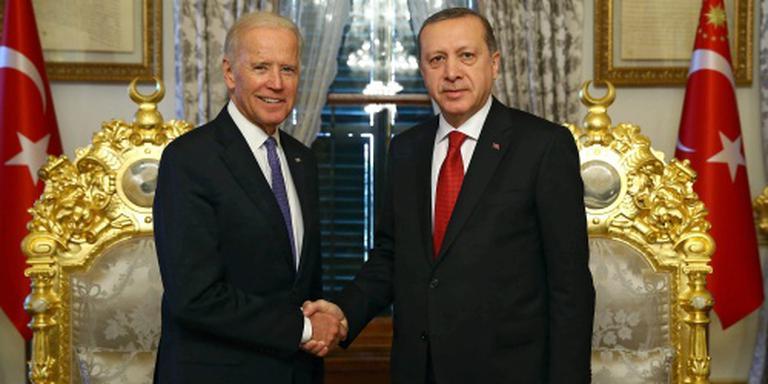 Amerikaanse vicepresident Biden naar Turkije