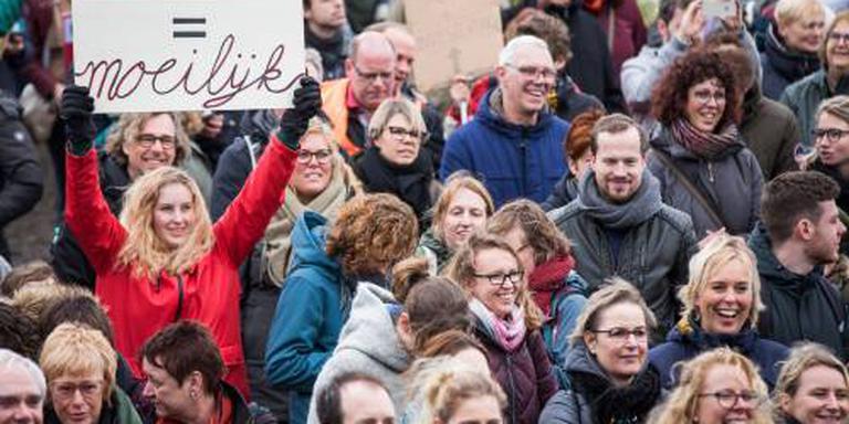 Onderwijsbond: 40.000 betogers op Malieveld