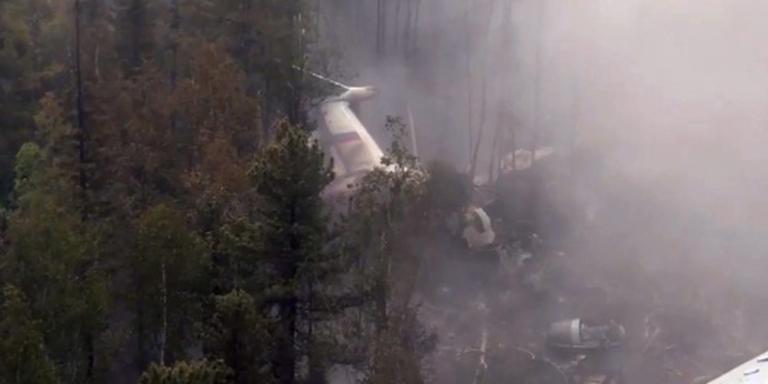 'Crash Russisch vliegtuig niet door mankement'