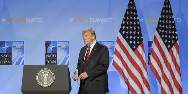 Trump: NAVO-landen zeggen veel meer geld toe