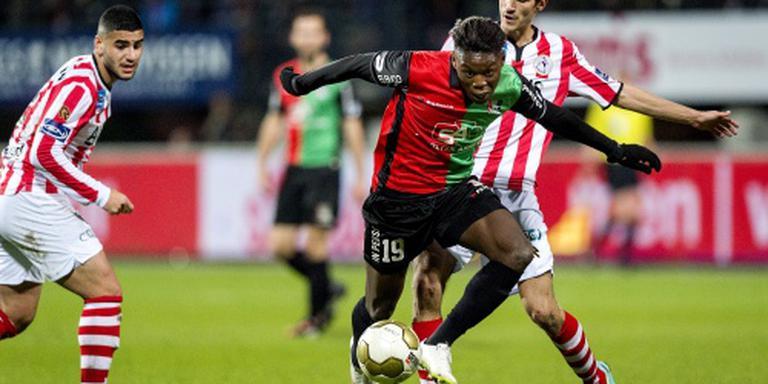 Limbombe van NEC naar Club Brugge
