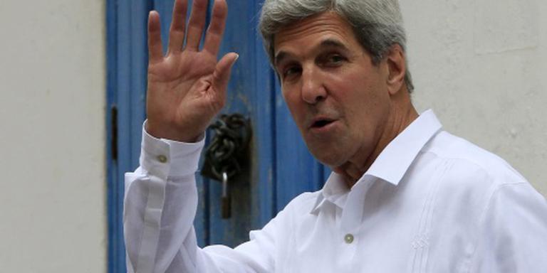 Kerry haalt uit naar Rusland