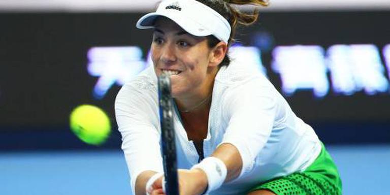 Muguruza als zesde tennisster naar Finals