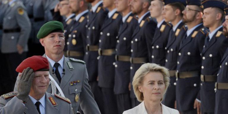 Duits leger krijgt taak in terreurbestrijding