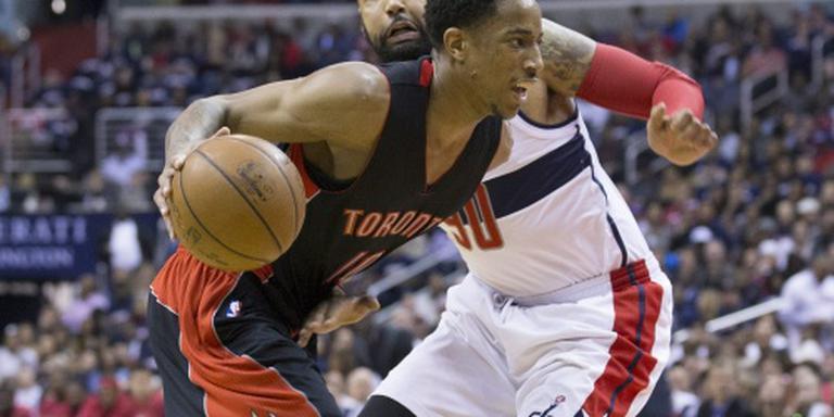 Basketballers Raptors schakelen Pacers uit