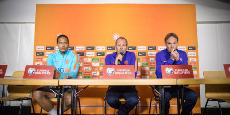 Oranje compleet op 'akker' in Luxemburg