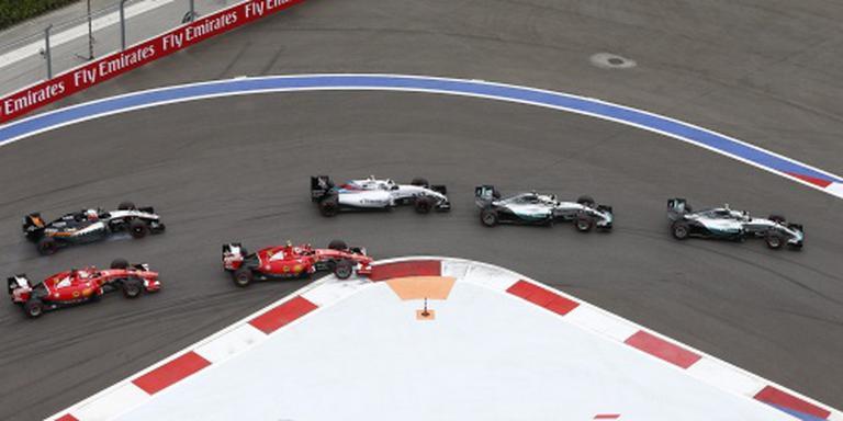 Rosberg favoriet in Grote Prijs van Rusland