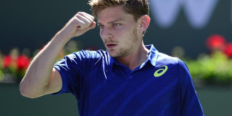 Goffin en Raonic in halve finale Indian Wells