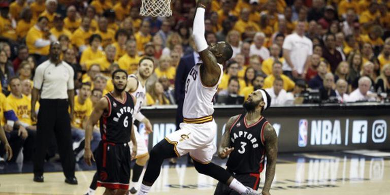 Cleveland Cavaliers slaat hard terug