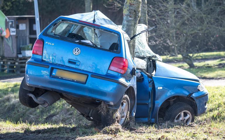 Automobilist overleden na botsing in Kruisweg.