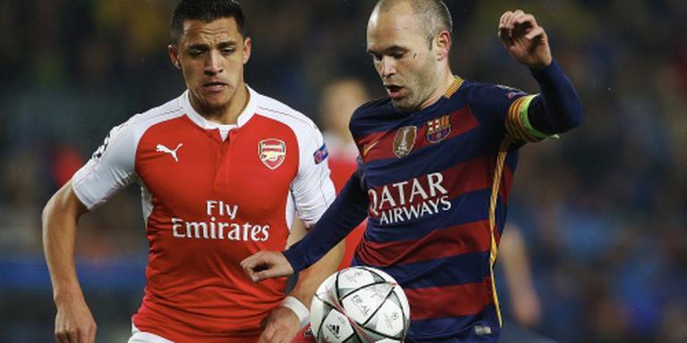 Barcelona wint ook thuis van Arsenal