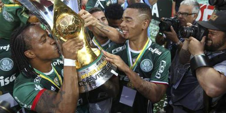 Palmeiras verovert Braziliaanse voetbaltitel