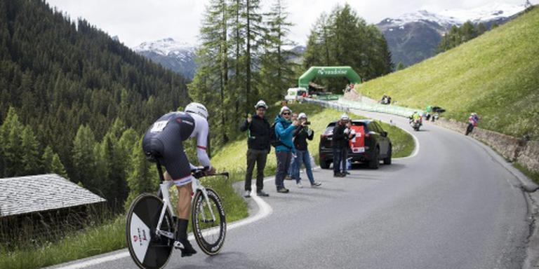 Slotetappe Ronde van Zwitserland ingekort