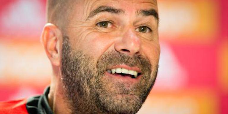 Bosz geniet een uurtje van Ajax