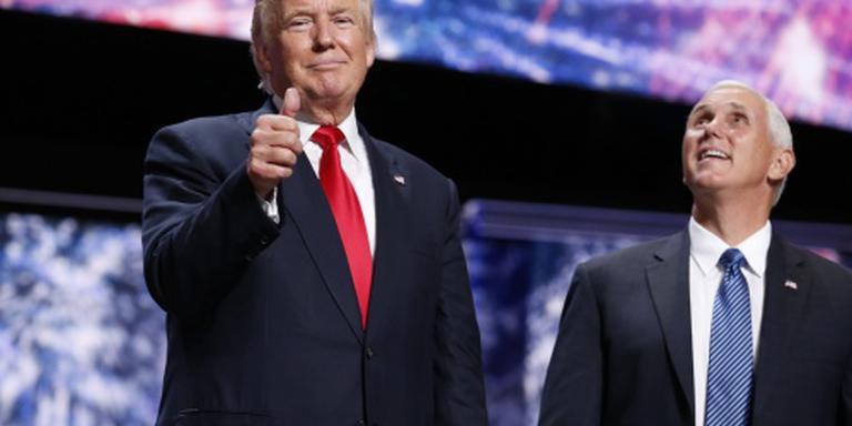 Media VS zien barst in relatie Trump en Pence