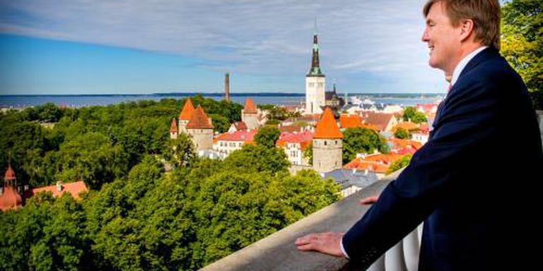 Koning op weg naar Litouwen