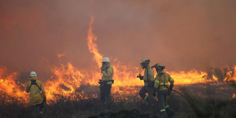 Evacuatie na bosbranden bij Gibraltar