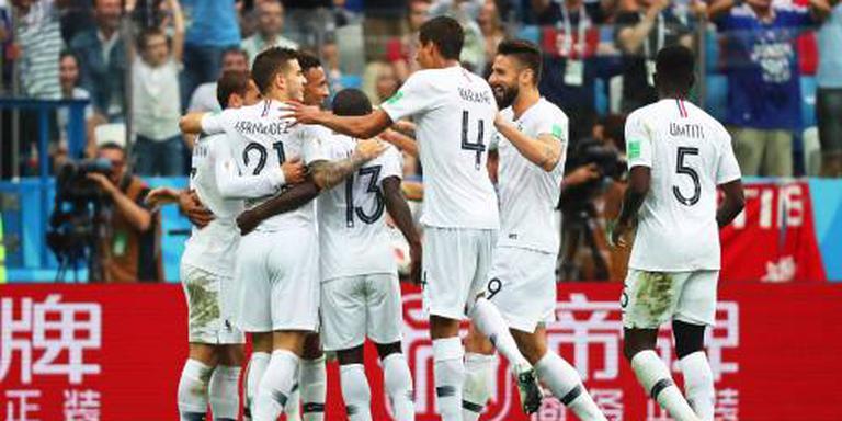 Frankrijk in halve finale na zege op Uruguay