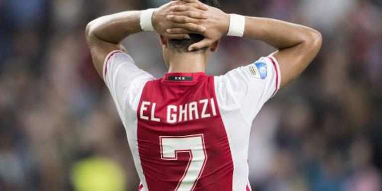 El Ghazi voor maand teruggezet naar Jong Ajax