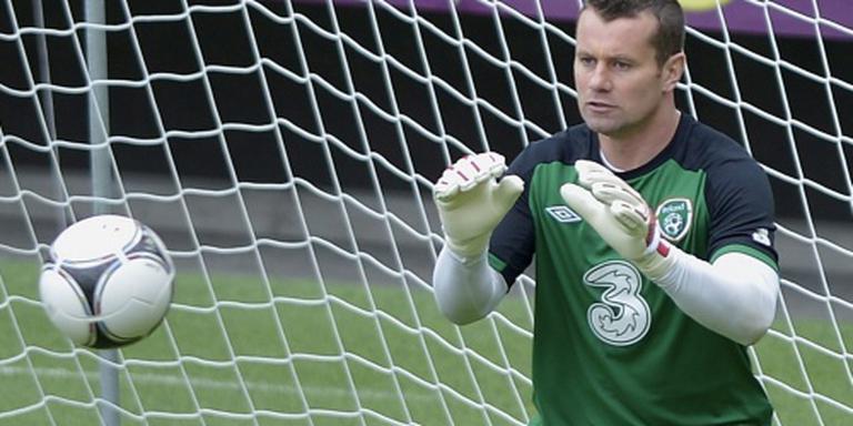 Ierland met Given en Keane tegen Oranje