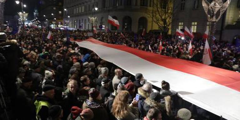 Protest in Polen tegen hervorming rechtspraak