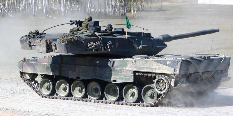 De terugkeer van de tank.