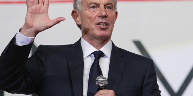 Blair blij met Irak-rapport