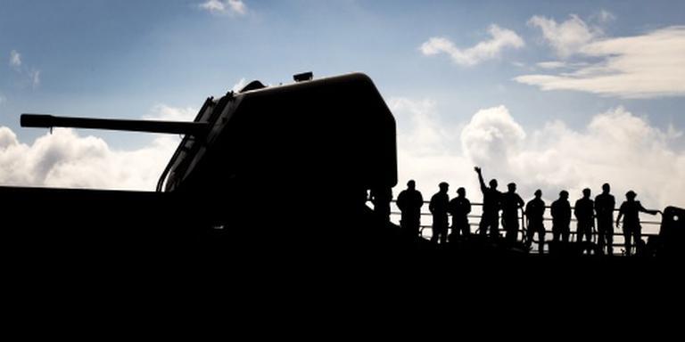 Marine gaat helpen op Haïti