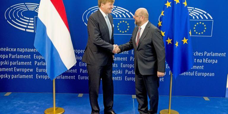 Koning houdt toespraak in Europees Parlement