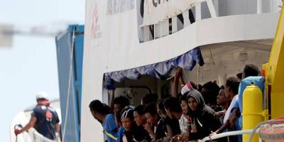 Italië legt beslag op migrantenschip Aquarius