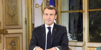 Macron belooft verhoging minimumloon