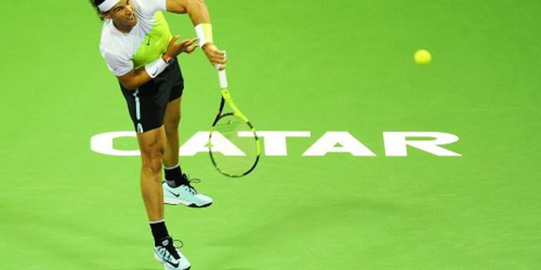 Nadal in Doha naar halve finale