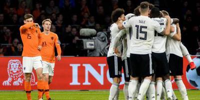 Oranje in slotfase onderuit tegen Duitsland